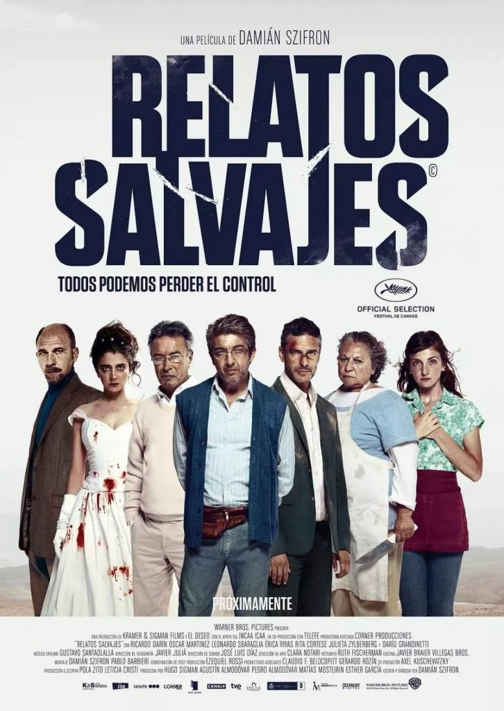 Дикие истории / Relatos salvajes (2014): постер