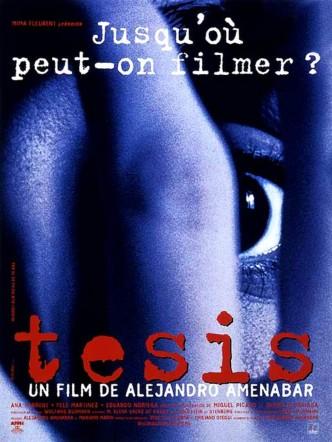 Дипломная работа / Tesis (1996): постер