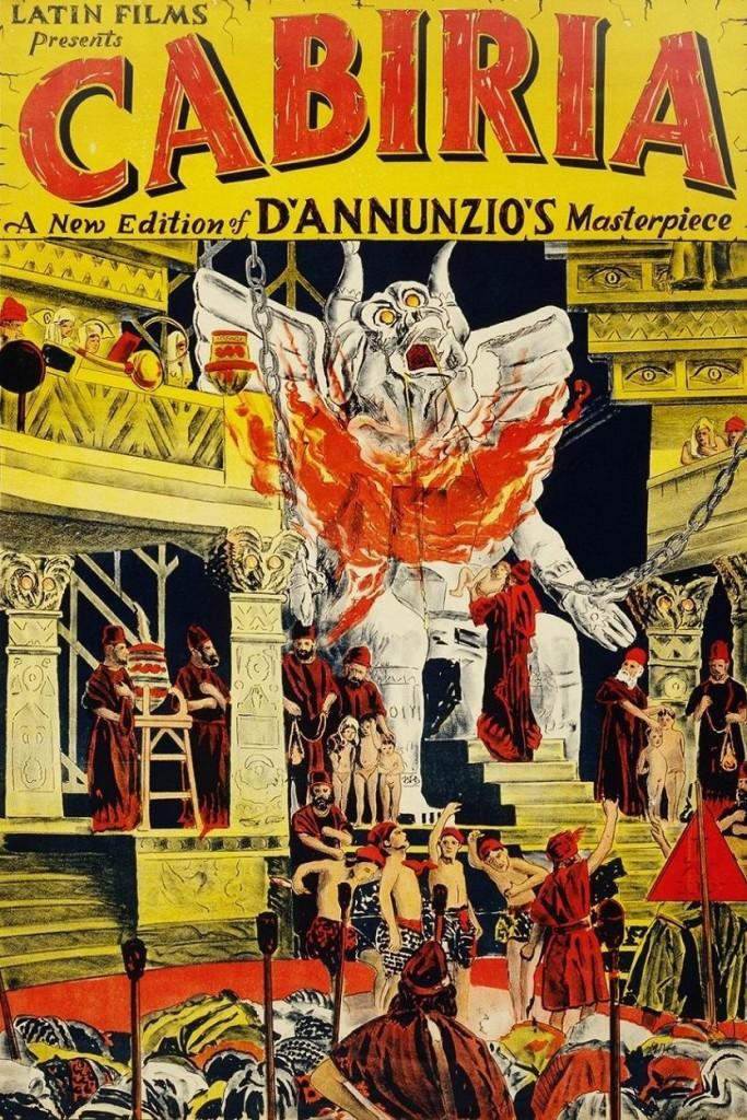 Кабирия / Cabiria (1914): постер