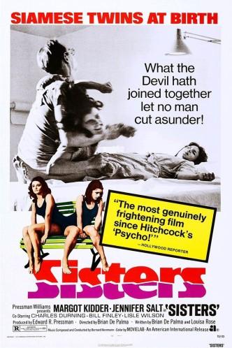 Сёстры / Sisters (1972): постер