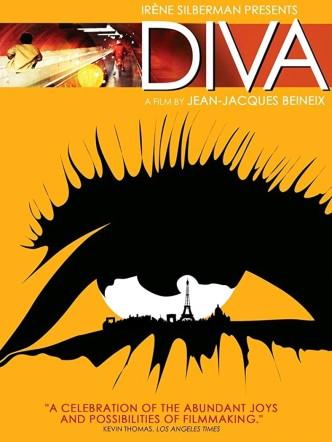 Дива / Diva (1981): постер
