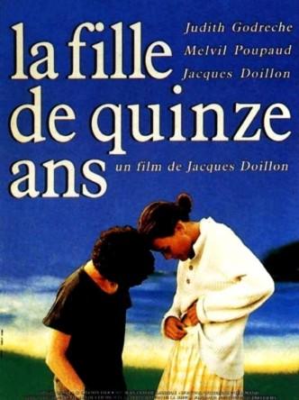 Пятнадцатилетняя / La fille de 15 ans (1989): постер
