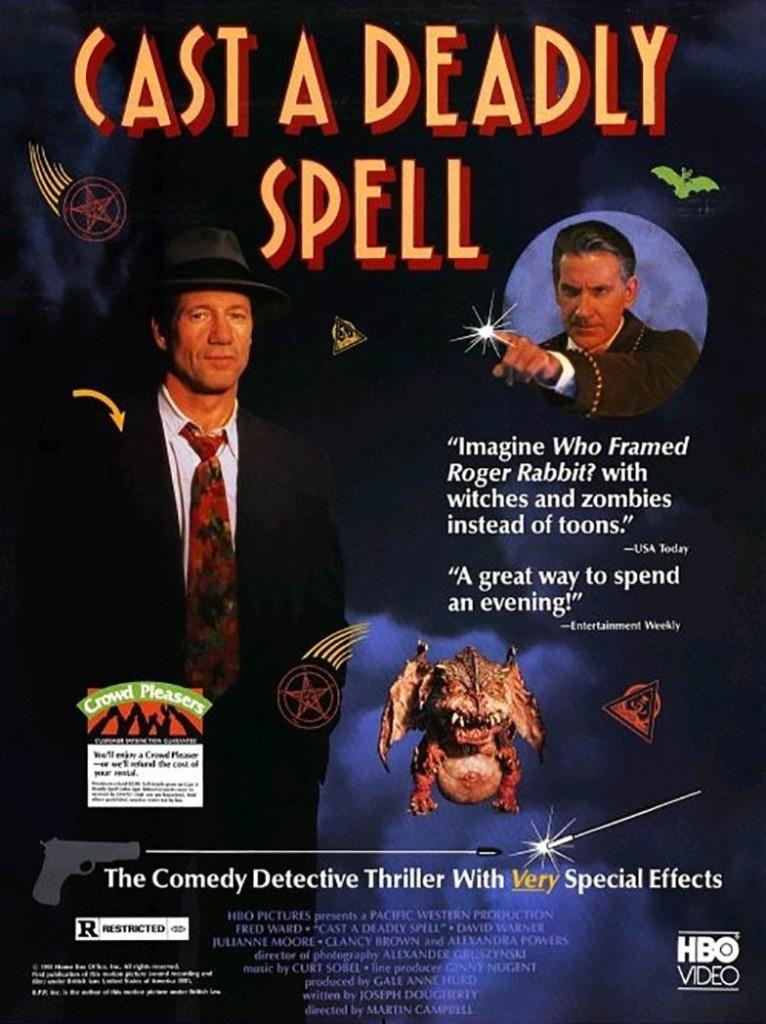 Цена заклятия смерти / Cast a Deadly Spell (1991) (ТВ): постер