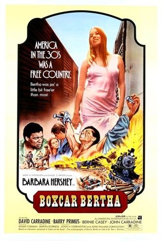 Берта по прозвищу «Товарный вагон» / Boxcar Bertha (1972): постер