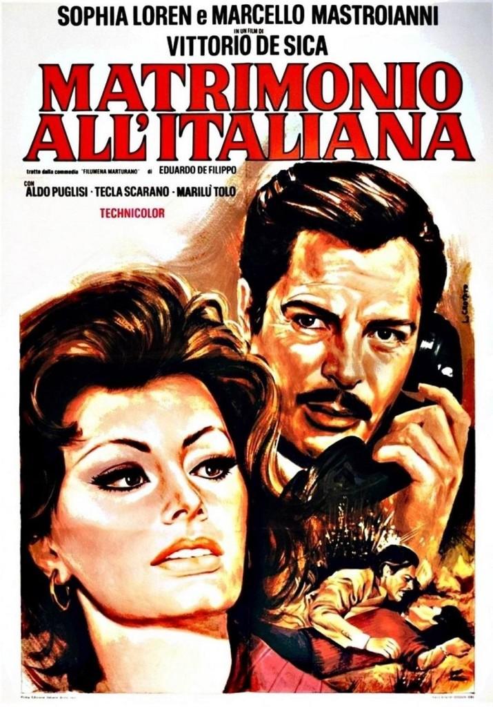 Брак по-итальянски / Matrimonio all'italiana / Mariage à l'italienne (1964): постер