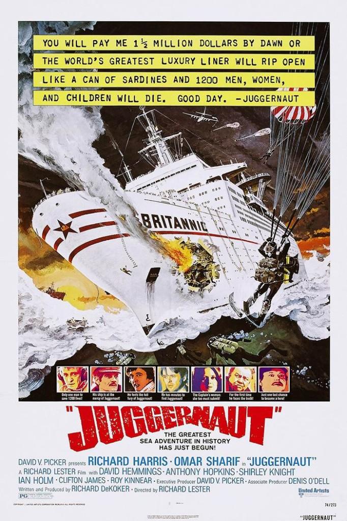 Джаггернаут / Juggernaut (1974): постер