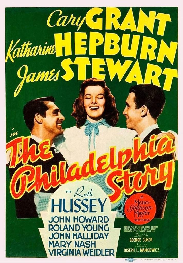 Филадельфийская история / The Philadelphia Story (1940): постер