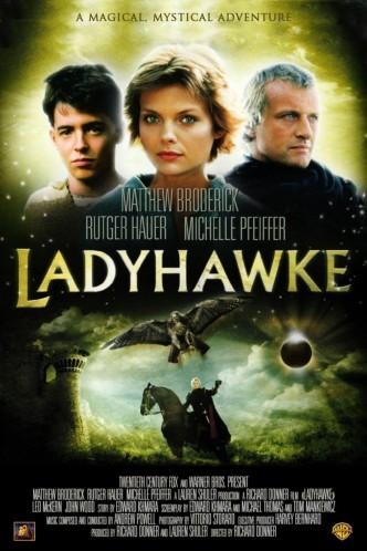 Леди-ястреб / Ladyhawke (1985): постер