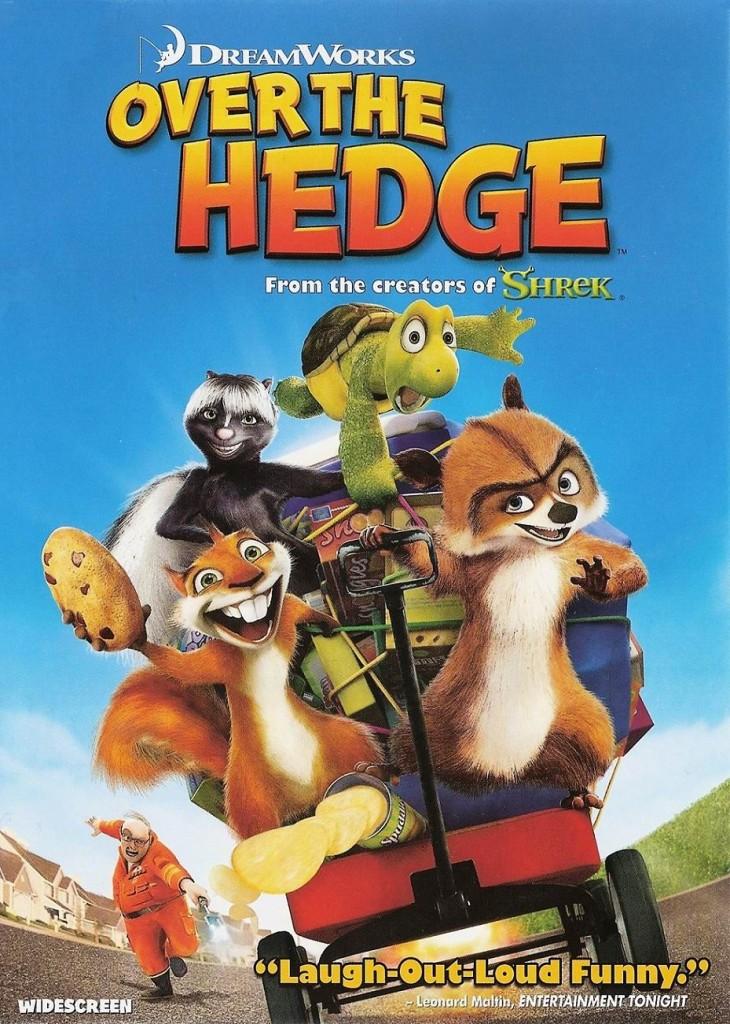 Лесная братва / Over the Hedge (2006): постер