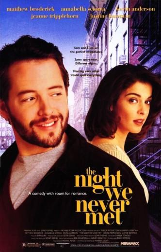 Ночь, в которую мы с тобой так никогда и не встретились / The Night We Never Met (1993): постер