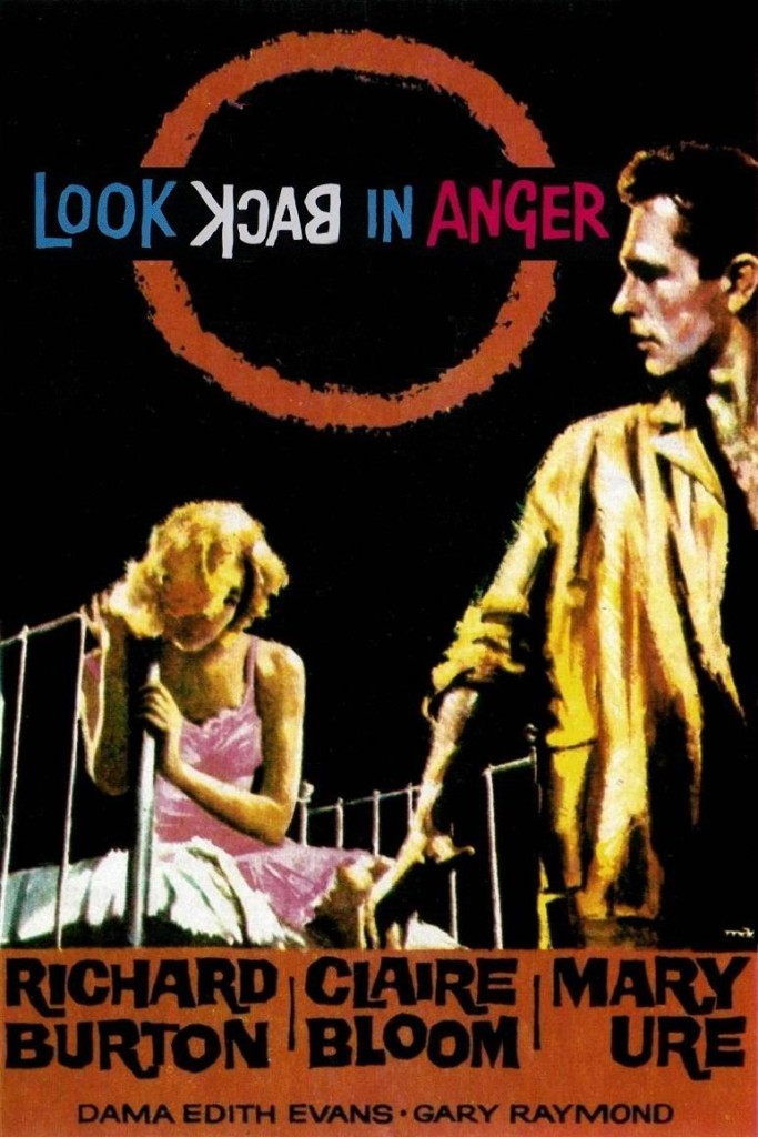 Оглянись во гневе / Look Back in Anger (1959): постер