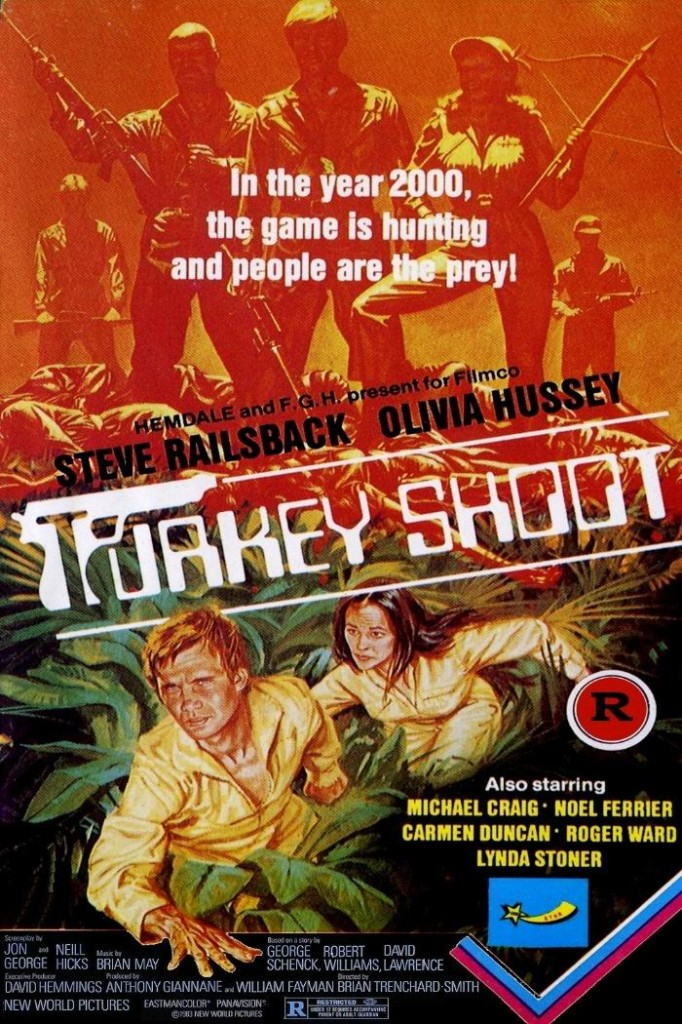 Охота на индюшек / Turkey Shoot (1982): постер