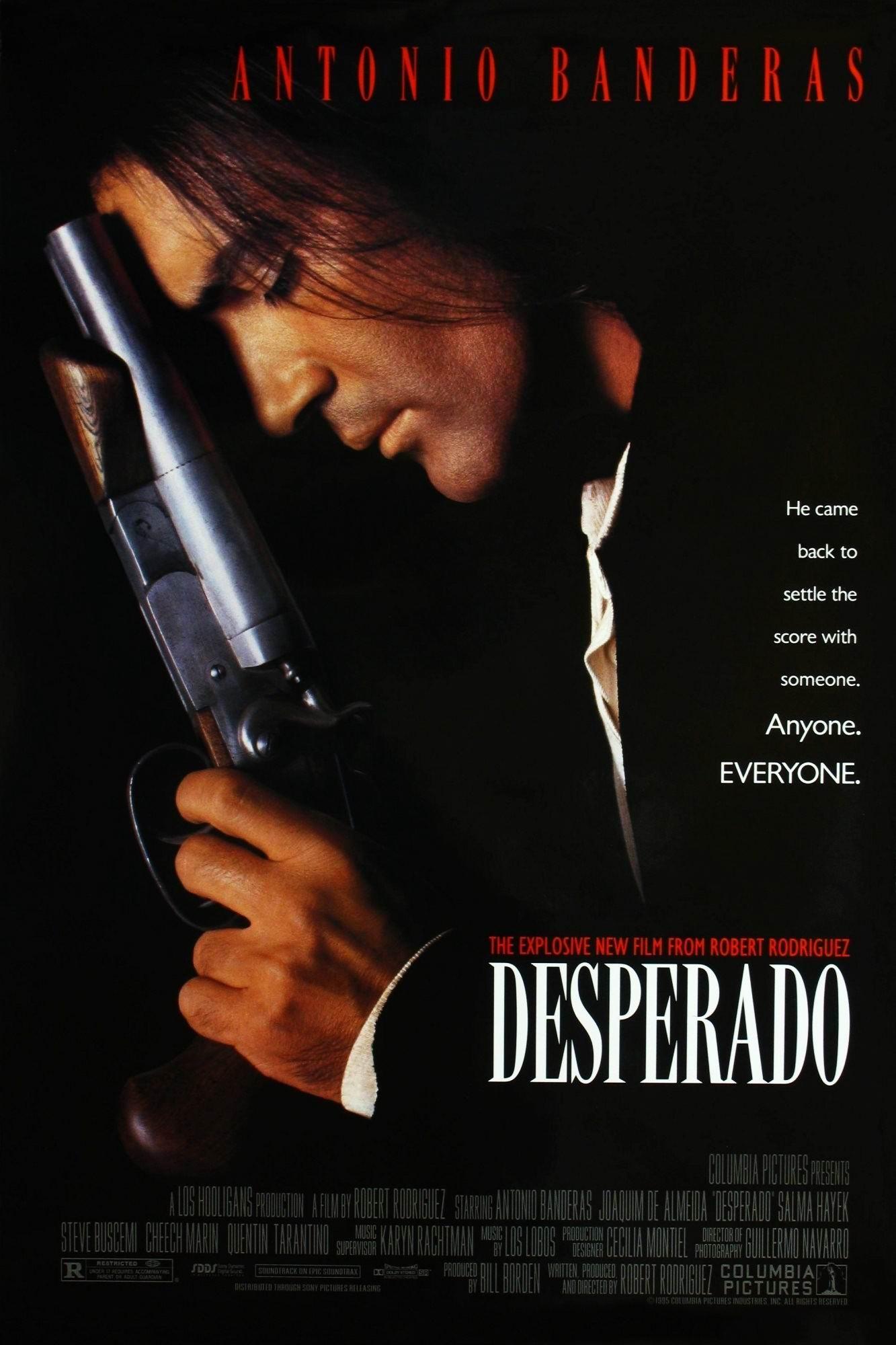 Отчаянный / Desperado (1995): постер