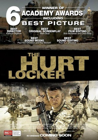Повелитель бури / The Hurt Locker (2008): постер