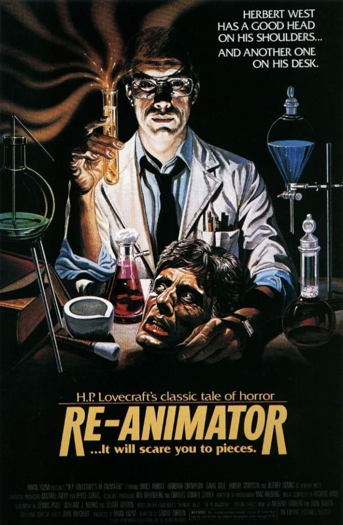 Реаниматор / Re-Animator (1985): постер