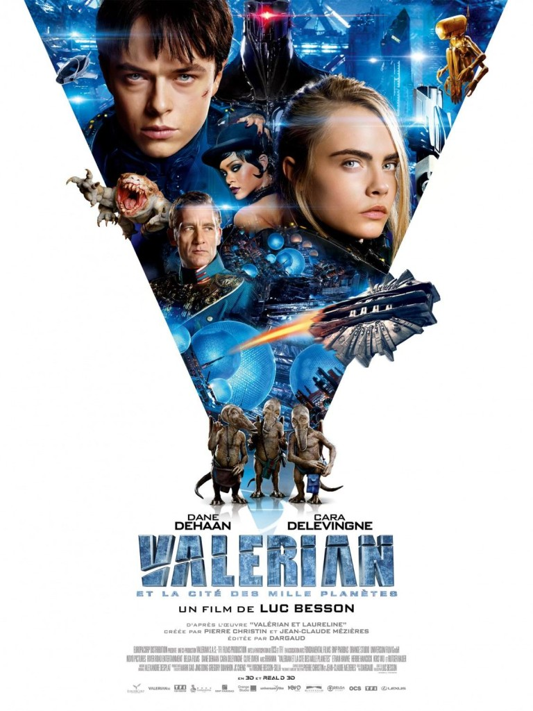 Валериан и город тысячи планет / Valérian et la cité des mille planètes / Valerian and the City of a Thousand Planets (2017): постер