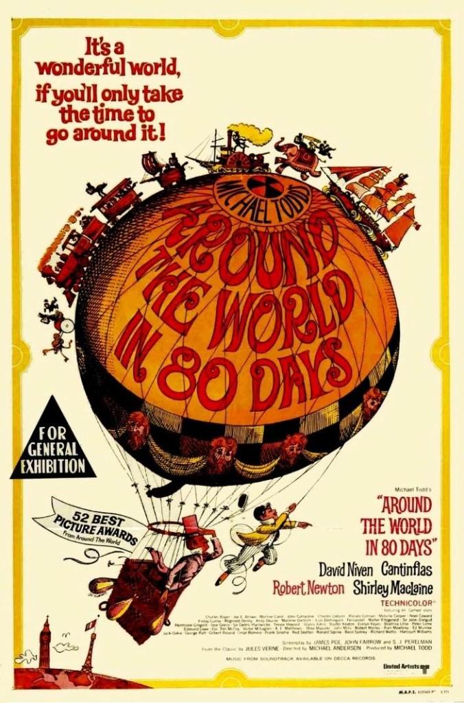 Вокруг света за 80 дней / Around the World in 80 Days (1956): постер