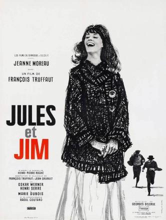 Жюль и Джим / Jules et Jim (1962): постер