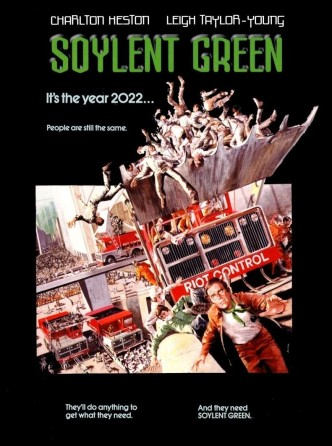 Зелёный сойлент / Soylent Green (1973): постер