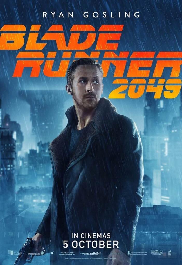 Бегущий по лезвию 2049 / Blade Runner 2049 / Szárnyas fejvadász 2049 (2017): постер