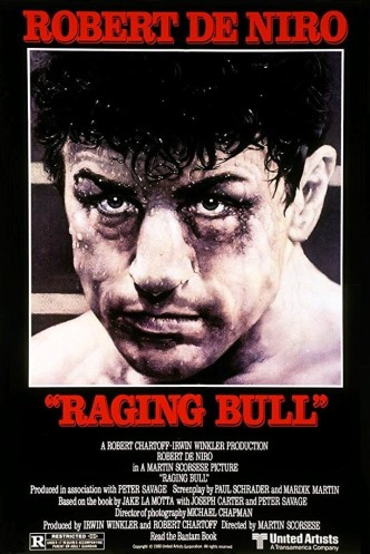 Бешеный бык / Raging Bull (1980): постер