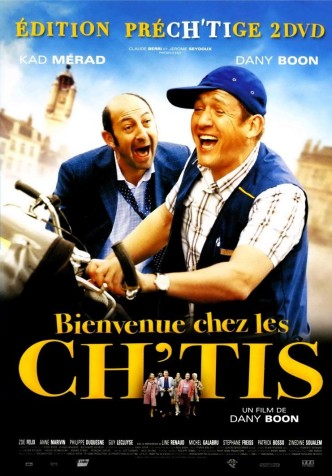 Бобро поржаловать! / Bienvenue chez les Ch'tis (2008): постер