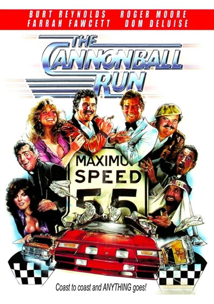 Гонки «Пушечное ядро» / The Cannonball Run (1981): постер