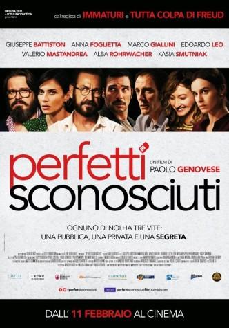 Идеальные незнакомцы / Perfetti sconosciuti (2016): постер