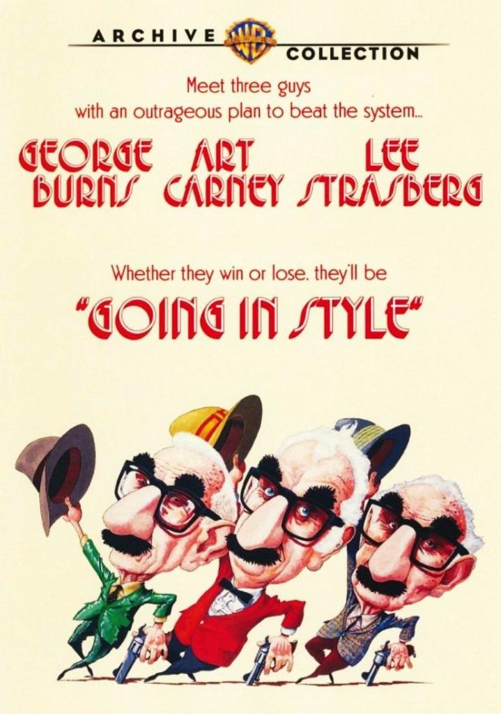 Красиво уйти / Going in Style (1979): постер