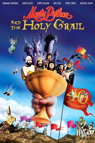 Монти Пайтон и Священный Грааль / Monty Python and the Holy Grail (1975): постер