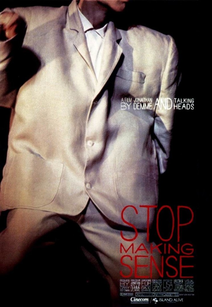 Не ищи смысла / Stop Making Sense (1984): постер