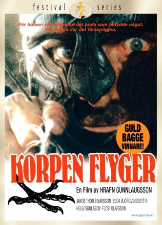 Полёт ворона / Hrafninn flýgur / Korpen flyger (1984): постер