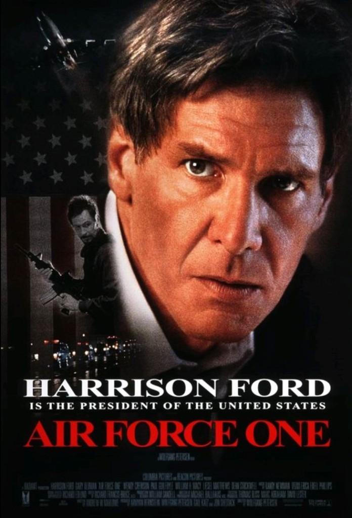 Самолёт президента / Air Force One (1997): постер