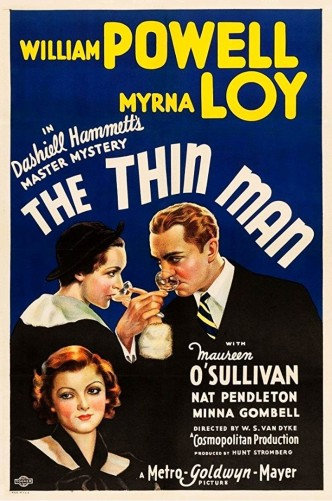 Тонкий человек / The Thin Man (1934): постер
