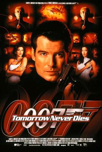 Завтра не умрёт никогда / Tomorrow Never Dies (1997): постер