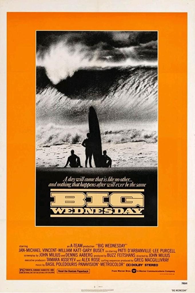 Большая среда / Big Wednesday (1978): постер