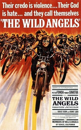 Дикие ангелы / The Wild Angels (1966): постер