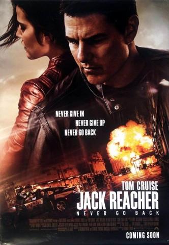 Джек Ричер 2: Никогда не возвращайся / Jack Reacher: Never Go Back (2016): постер