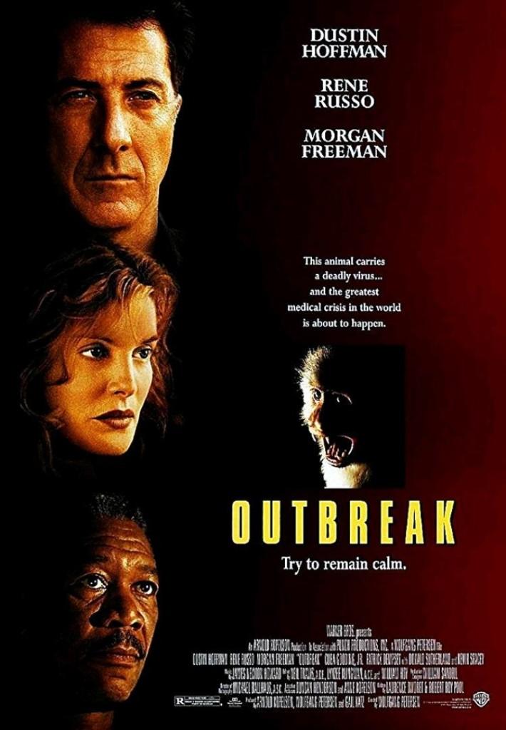 Эпидемия / Outbreak (1995): постер