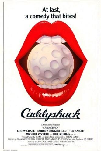 Гольф-клуб / Caddyshack (1980): постер