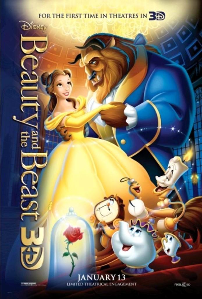 Красавица и чудовище / Beauty and the Beast (1991): постер