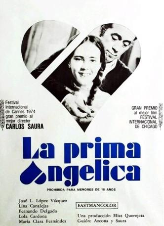 Кузина Анхелика / La prima Angélica (1974): постер