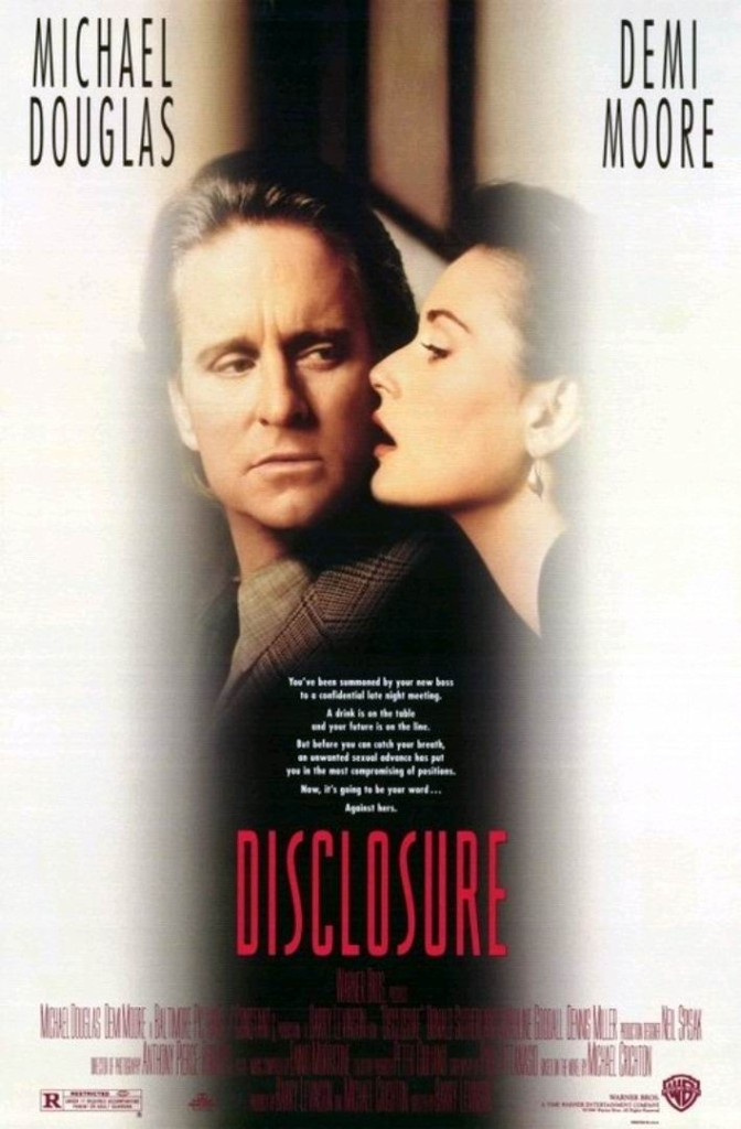 Разоблачение / Disclosure (1994): постер