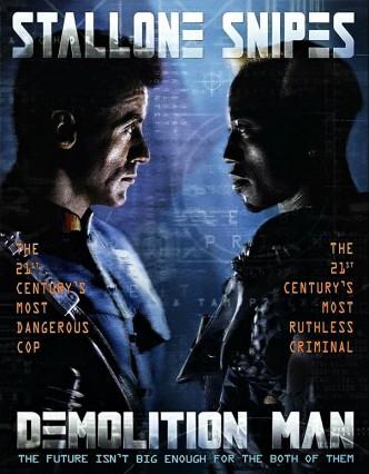 Разрушитель / Demolition Man (1993): постер