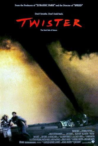 Смерч / Twister (1996): постер