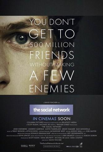 Социальная сеть / The Social Network (2010): постер