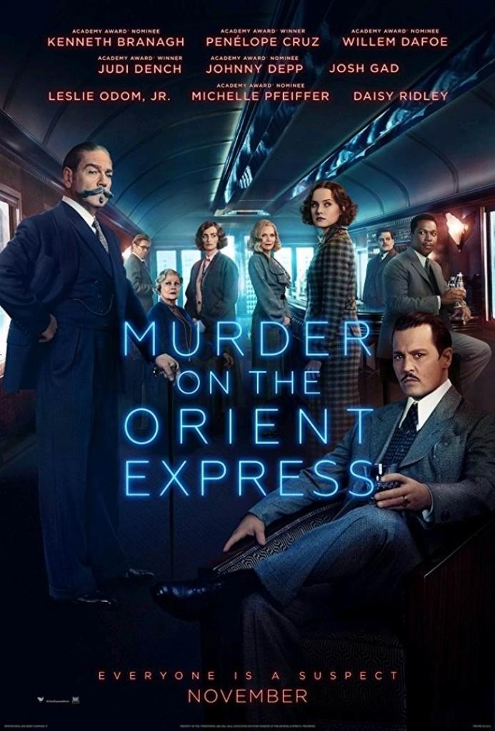 Убийство в «Восточном экспресс» / Murder on the Orient Express (2017): постер