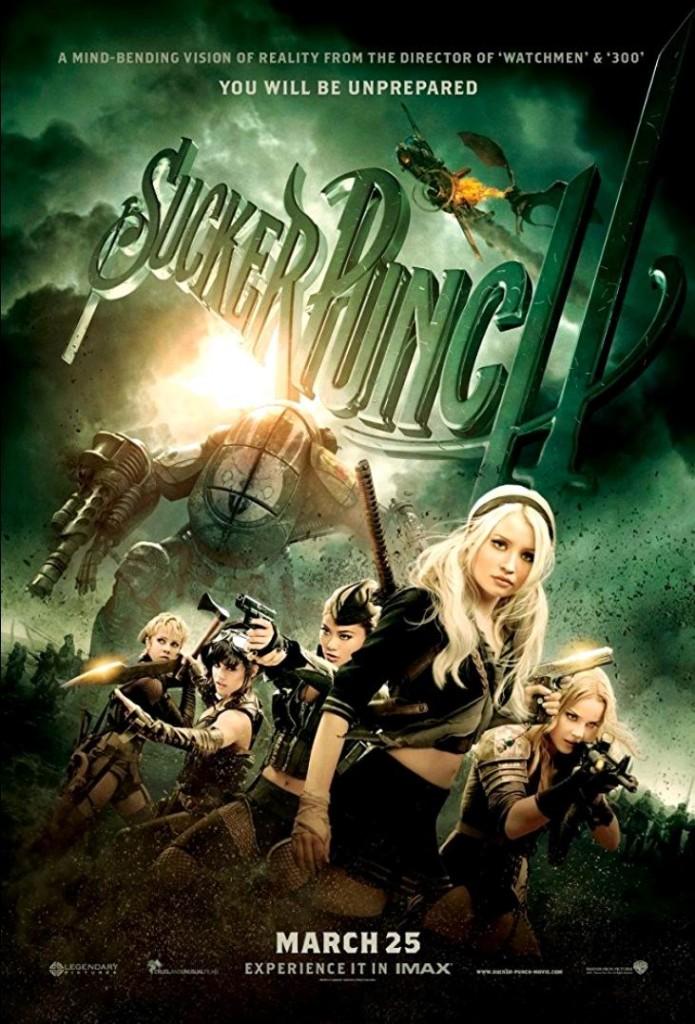 Запрещённый приём / Sucker Punch / Coup interdit (2011): постер