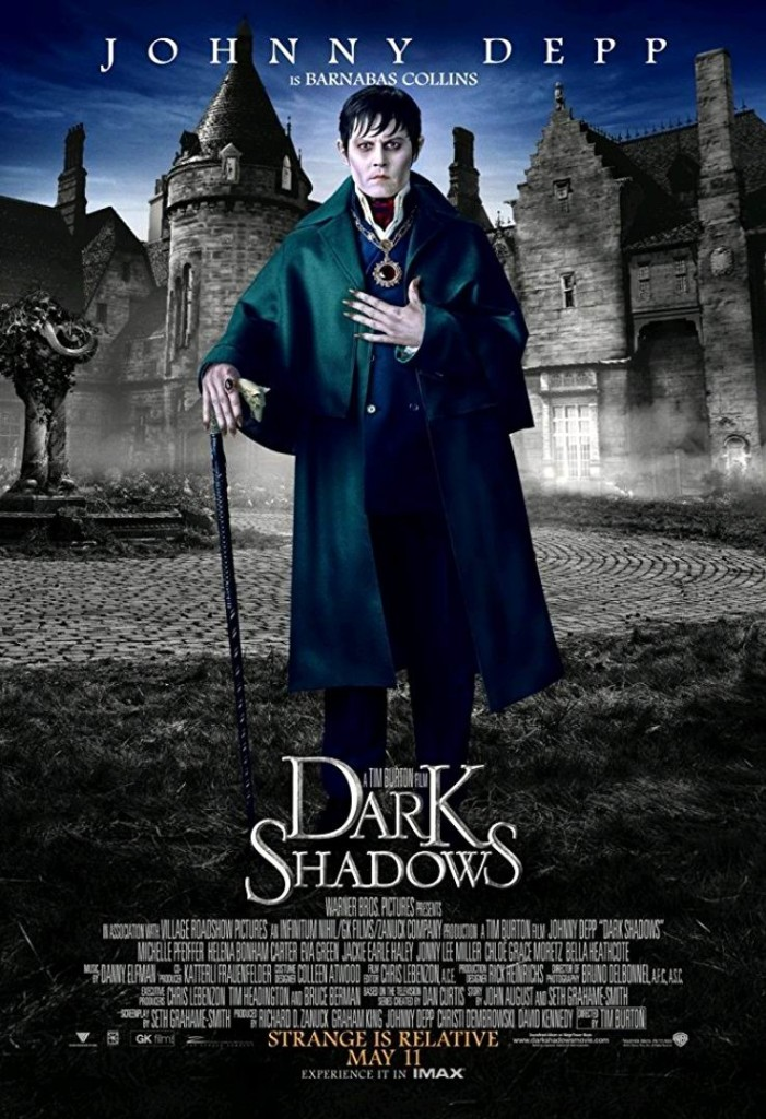 Мрачные тени / Dark Shadows (2012): постер