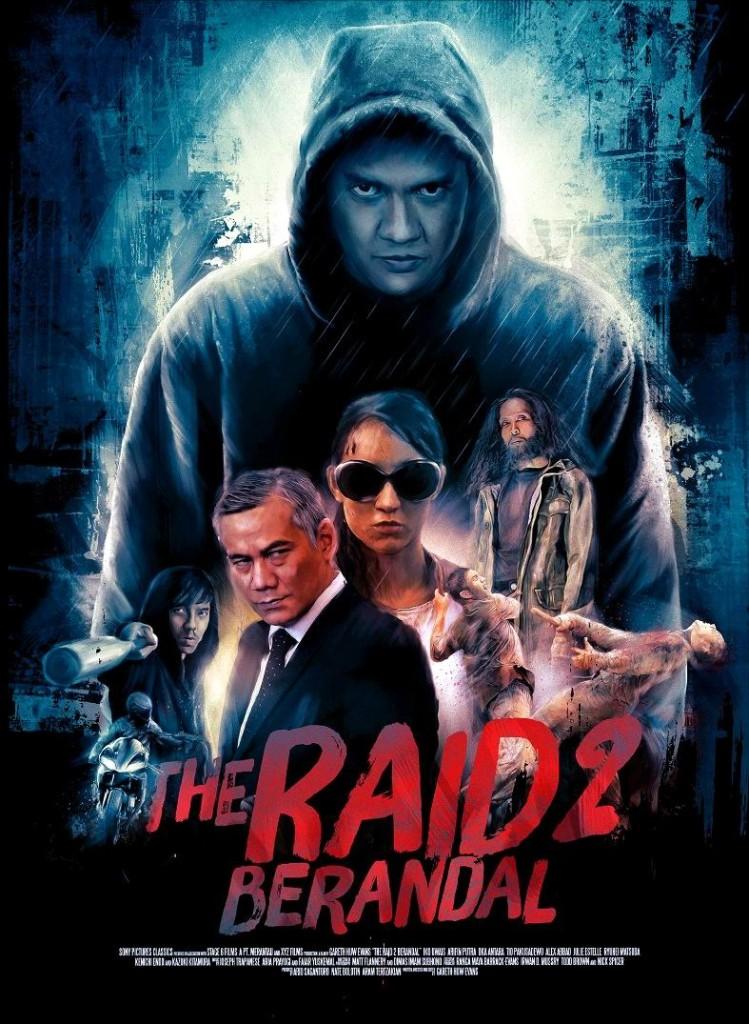 Лучшие фильмы в рецензия Рейд 2 The Raid 2 Berandal 2014: постер